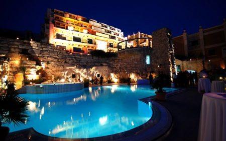 Pool night ilumination